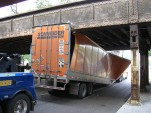 Downside of GPS Navigation Systems: Trucks Hitting Bridges