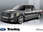 Truckin' Magazine's F-150 SEMA concept