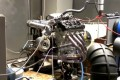 Turbocharged Hayabusa engine on the dyno, built by George Dean Racing Engines