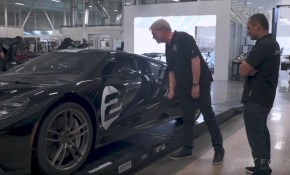 Turn 10 visits the Ford GT factory