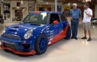Twin-Engined MINI Cooper Powerslides Into Jay Leno's Garage