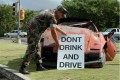 U.S. Navy drunk driving deterrence display