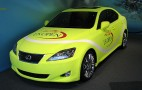 Lexus Rolls Out Tennis Ball IS 350 At U.S. Open