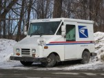 "U.S. Postal Service Grumman ""Long Life Vehicle"""