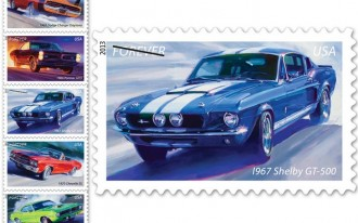 U.S. Postal Service & Richard Petty Unveil Muscle Car Stamps