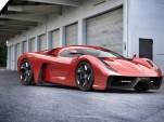 Ugur Sahin Design Project F based on the Ferrari 458 Italia
