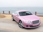 Unique 'Passion Pink' 2012 Bentley Continental GT