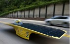 University of Michigan's Quantum Solar Racer Laps Michigan