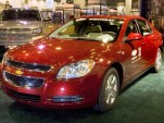 Update: GM's hybrid Chevrolet Malibu unveiled