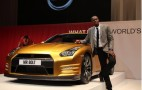 'Bolt Gold' GT-R Helps Raise Over $190k For Charity: Video