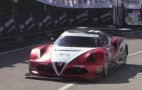 V-8-powered Alfa Romeo 4C hill climb car is a serious machine