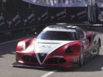 V-8 powered Alfa Romeo 4C hill climb monster