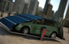 Solar Tent Keeps Electric Cars Charged When Parked