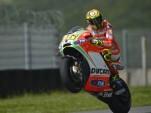 Valentino Rossi image courtesy Ducati Team