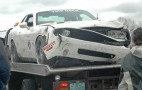 Vanishing Point Dodge Challenger Wrecks at Road America