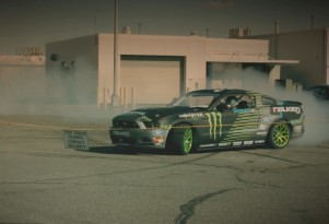 Vaughn Gittin Jr. tours Ford's Flat Rock plant