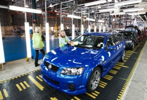 VE Commodore production line at Holden plant