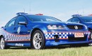 VE Holden Commodore police car