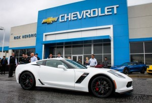 Vengeance Racing 2015 Chevrolet Corvette Z06 at delivery