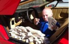 Mini-Me Verne Troyer Tops 50 Cent's Cash-Stuffed Lambo