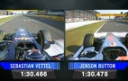 This Is What 9 Thousandths Of A Second Looks Like In F1: Video