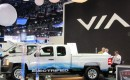 Via Motors extended-range electric truck conversion launch, 2012 Detroit Auto Show