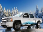 Via Electric Pickup Outdoes Solar Roofs With Solar Tonneau Cover