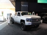 VIA Motors XTRUX Electric Truck: 2013 Detroit Auto Show Live Photos