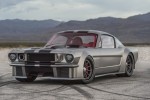 A vicious '65 Ford Mustang with 1,000 hp drops by Jay Leno's Garage