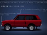 View the evolution of the Land Rover Range Rover