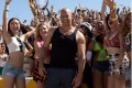 Vin Diesel's character Dominic Toretto in 'Furious 7' race wars scene