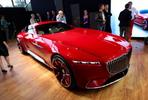 Vision Mercedes-Maybach 6 concept coupe: all-electric powertrain hints at future plans