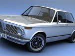 Vizualtech BMW 2002 3D rendering