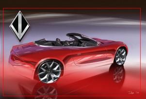 VL Destino convertible concept rendering