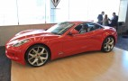 VL Automotive Resurrects Fisker Sunset With Destino Red Concept