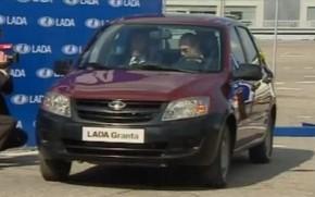 Russian Prime Minister Vladimir Putin Fails To Start Lada: Video