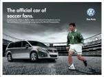 Volkswagen ad for the 2010 World Cup