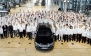 Volkswagen celebrates end of Phaeton production at Transparent Factory in Dresden, Germany
