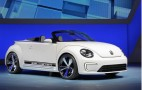 Roofless Volkswagen E-Bugster Electric Concept At Beijing Auto Show