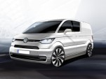 Volkswagen e-Co-Motion electric van concept, 2013 Geneva Motor Show