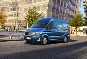 VW e-Crafter, Mercedes Urban e-truck concept: electric vans for Europe