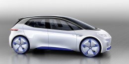 VW shows renderings of electric-car concept for Paris Motor Show