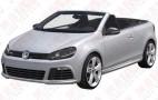 Volkswagen Golf R Cabrio Patent Photos Revealed