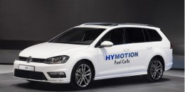 Volkswagen Golf SportWagen HyMotion: Hydrogen Fuel-Cell Concept At LA Auto Show