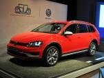 2016 Volkswagen Golf SportWagen Alltrack Live Photos, 2015 New York Auto Show