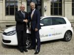 2013 Volkswagen Golf Blue e-Motion