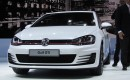 Volkswagen GTI 'concept' launch at Paris Motor Show, September 2012