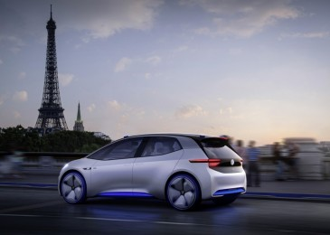 Volkswagen ID: more details of all-electric concept car at Paris Motor Show
