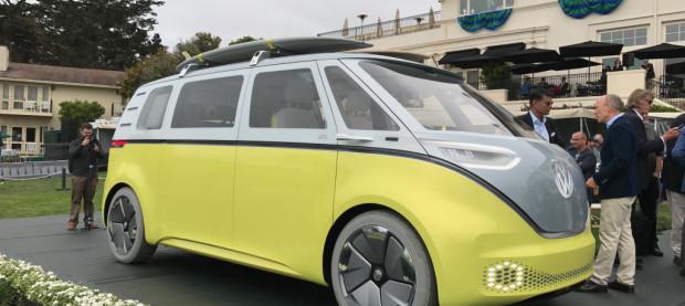 Volkswagen ID Buzz at Pebble