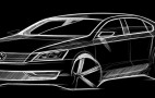 Volkswagen Releases Official Sketch Of New Midsize Sedan